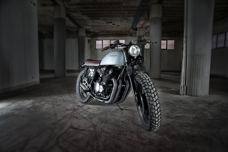 #custom #special #motorcycles Motorecyclos bikes Jap Fat #scrambler based on #Yamaha xj 900