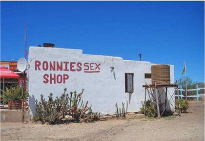 Ronnies Sex Shop is actually a remotely situated bar on Route 62