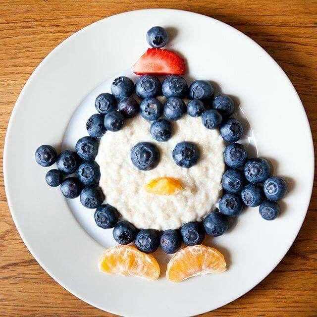 Blueberry penguin