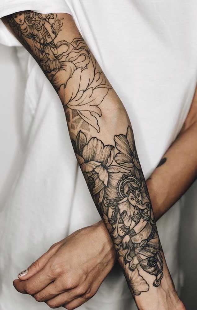Unterarm innenseite tattoo Schmerzhaft bei