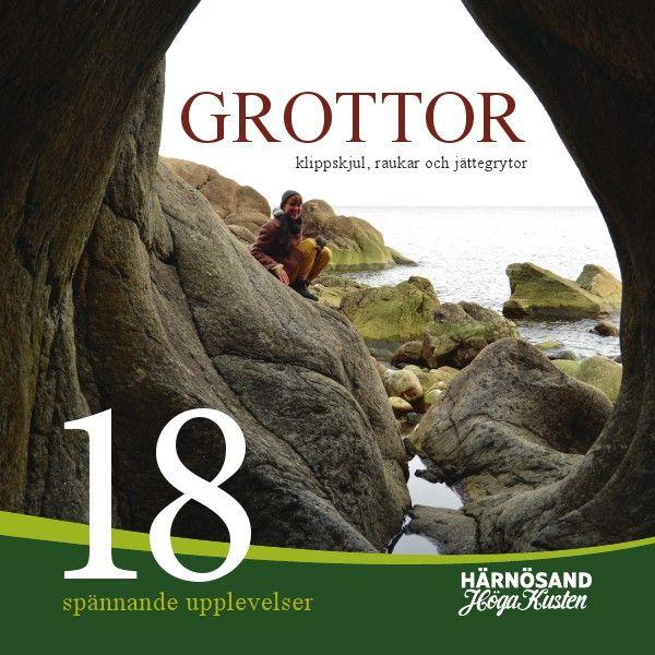 Grottor, klippskjul, raukar och jättegrytor Jun. 2014