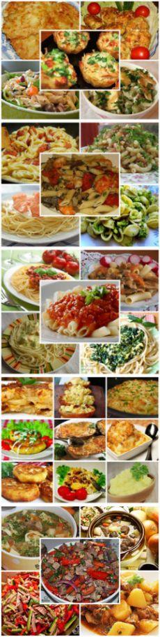 Feluri de mâncare principale - Site-ul & quot; de gătit pentru unul și de toate & quot;