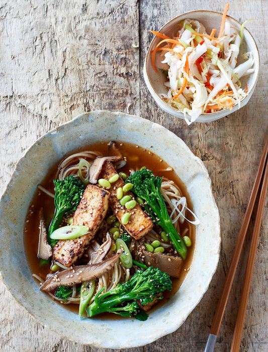 This Korean inspired noodle soup is well worth the wait. It's hearty and healing, packed with veg and suitable for vegans, too.