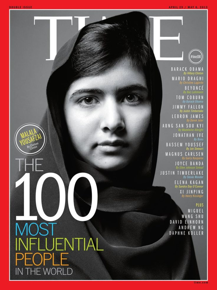 """And there it is :-)   """"Malala personifies courage. She should inspire us all to do more with our voices, our lives.""""    """"Even the smallest person can change the course of the future."""" -J.R.R. Tolkien"""