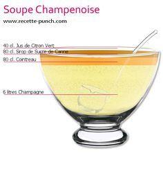 Soupe champenoise pour 40 personnes