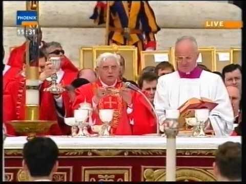 Beerdigung Papst Johannes Paul II (Funeral Pope John Paul II) - 8. April 2005 (Deutsch Komplett) - YouTube