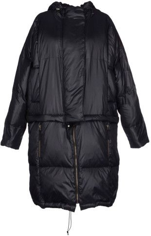 Mm6 By Maison Martin Margiela Down Jacket in Black