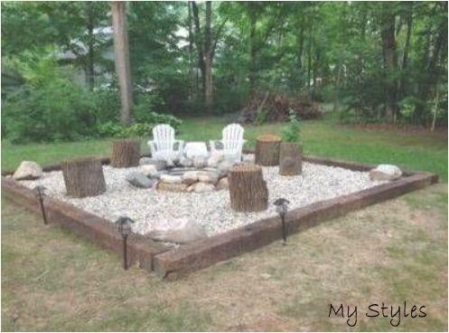 Mar 25 2020 44 Ideas For Backyard Diy Fire Pit Pea Gravel Firepit Backyar Backy Area