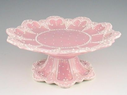WB Victorian Cake Plate