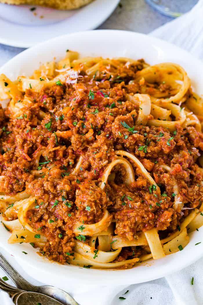 Das Geheimnis der authentischen italienischen Bolognese-Sauce