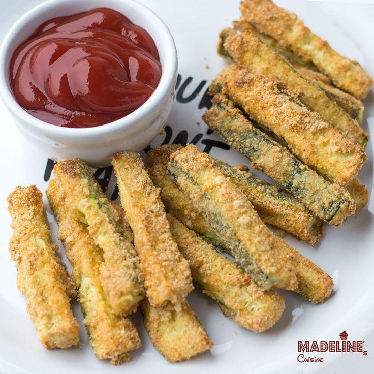 Crochete de dovlecei la cuptor / Baked zucchini sticks