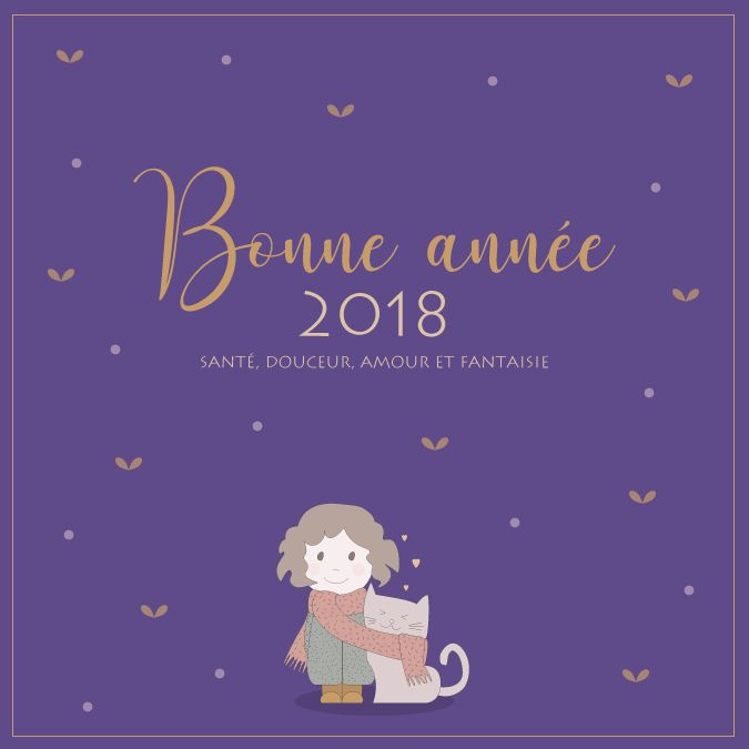 Vœux 2018 + PANTONE 2018
