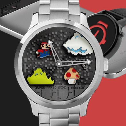 Animated 3D Super mario RJ Watch Face (Paid) Go get yours now #android #androidwear #watchface #watchmaker