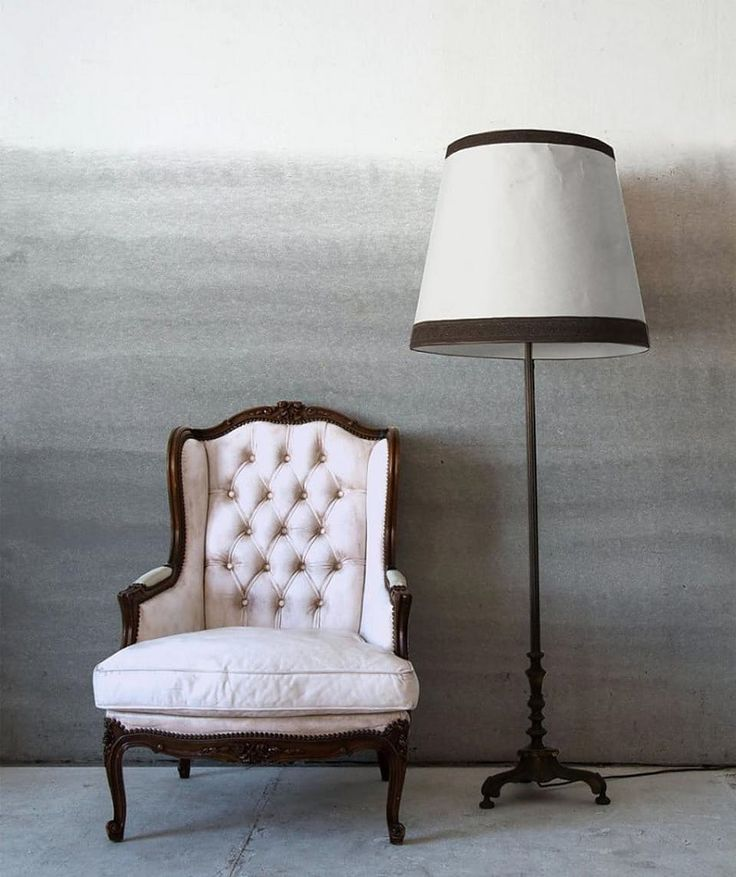 Classic, feminine and simplicity symbolises this pretty reading space.