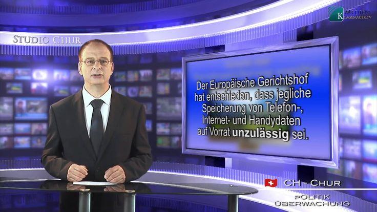 Europäischer Gerichtshof erklärt Gesetz zur Vorratsspeicherung für ungül...