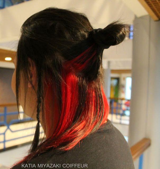 Katia Miyazaki Coiffeur - Salão de Beleza em Floripa: Cabelo Masculino Colorido -  Mechas - Vermelha - S...