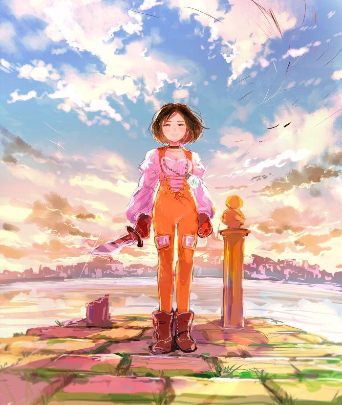 Garnet Dagger Final Fantasy IX #FFIX 9                                                                                                                                                                                 Más