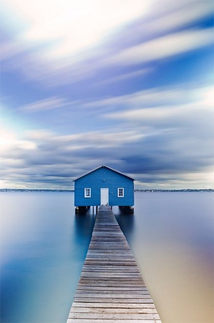 Matilda Bay Boat Shed, Western Australia by Kirk Hille Photography
