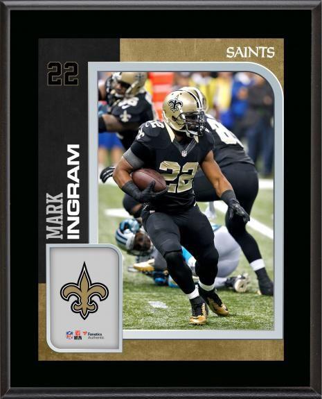 4e839cbd6a4 Mark Ingram New Orleans Saints 10.5   x 13   Sublimated Player Plaque
