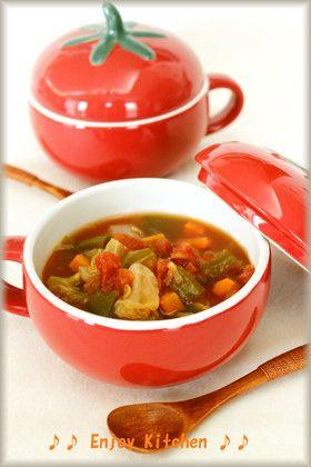 野菜たっぷり♪脂肪燃焼ダイエットスープ by EnjoyKitchen ...