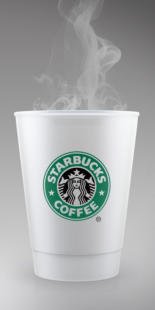 Starbucks Style Coffee Cup PSD Mockup