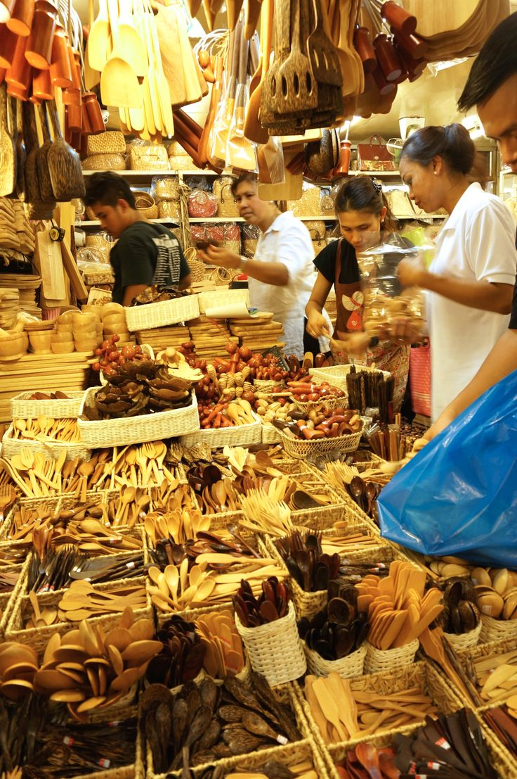Best Thai Souvenirs Shopping Bangkok Jj Chatuchak Market Wood Kitchen Utensils