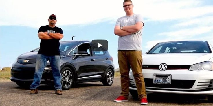 Chevy Bolt is the new Hot Hatch king as it destroys VW Golf GTI off the line [video] | Electrek: A lot of folks have a big problem with the $30,000 base price (after $7500 incentive) of the Chevy Bolt when compared to ICE cars of the same class. I'd argue that comparing a Chevy Bolt to $…
