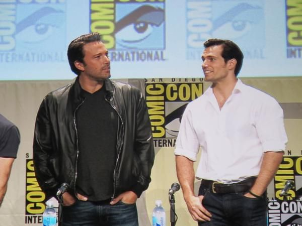 Henry Cavill - Henry Cavill, Ben Affleck and Gal Gadot Tease Batman V Superman at Comic-Con 2014