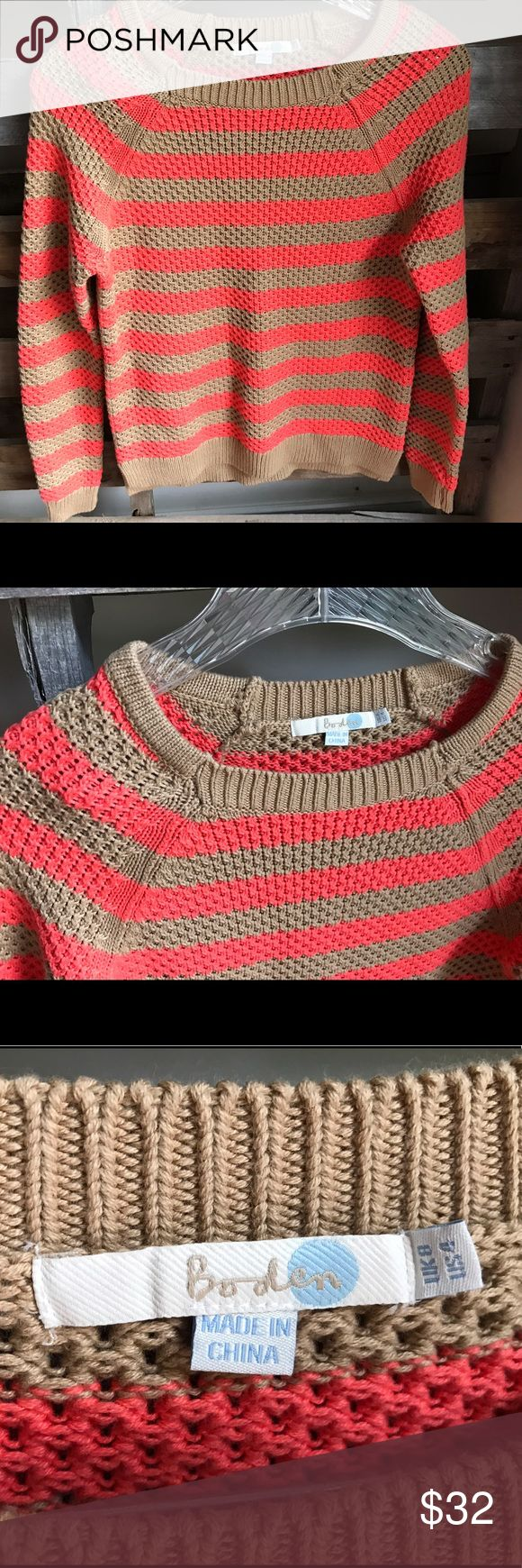 Boden sailor striped sweater size 4 EUC Perfect condition. Smoke and pet free home. Bundle discount 20% Boden Sweaters Crew & Scoop Necks