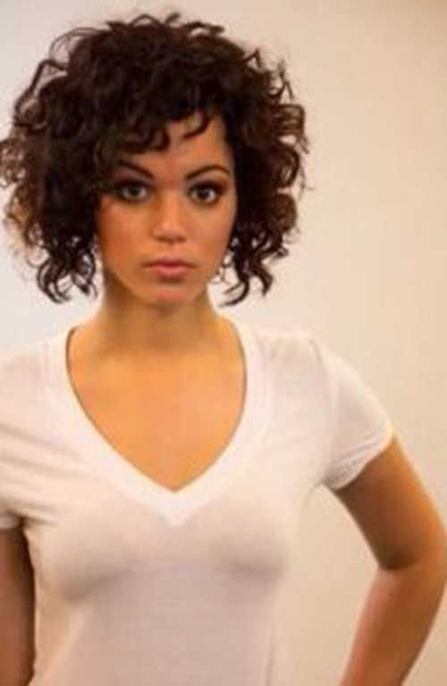 Best 25 Short Curly Hair Ideas On Pinterest Short Hair For Curly Hair Short Curly Hairstyles