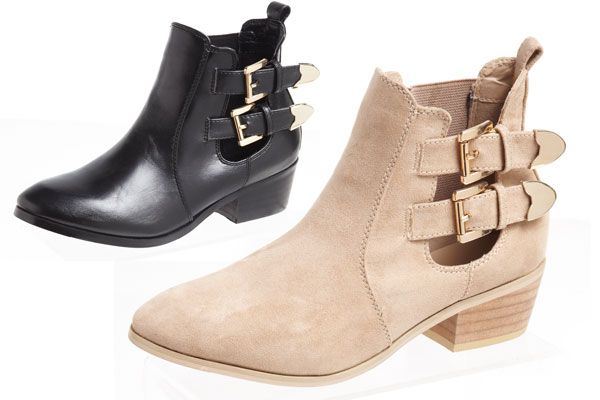 Every girl needs a pair of sexy boots and I personally love the buckle design on these Luca & Marc Ankle Boots. One of my fav simple looks is to pair these up with some skinny jeans!
