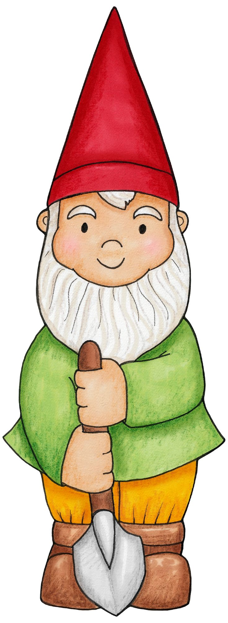 Little boy gnome for a woodlands party