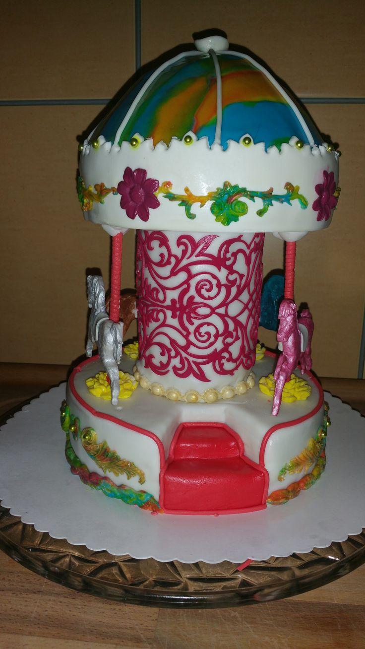 Kinderkarussell Kuchen
