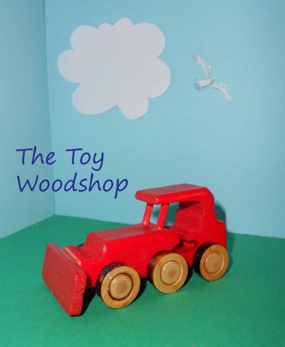 Mini BullDozer by TheToyWoodshop on Etsy, $10.00