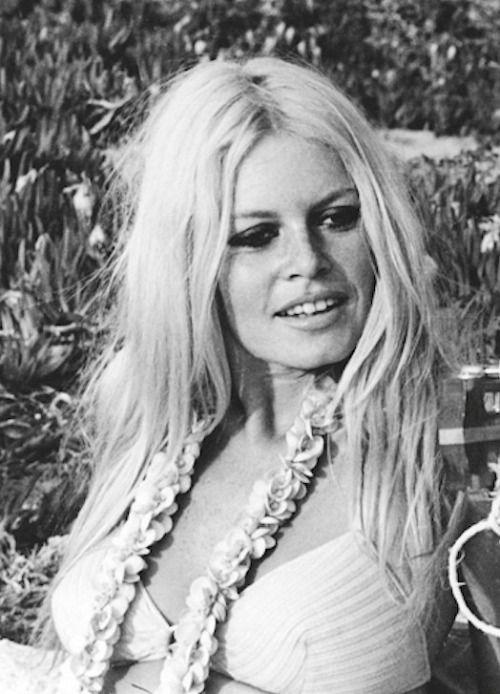 Brigitte Bardot, 1968 coiffures Brigitte bardot