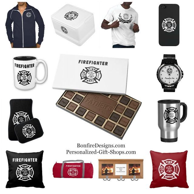 Fire Department Christmas Gifts Part - 17: Firefighter Gift Shops Personalized