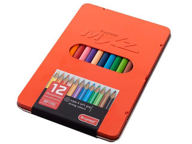 Trojhranné pastelky softfeel MXZ   Hobbymoment
