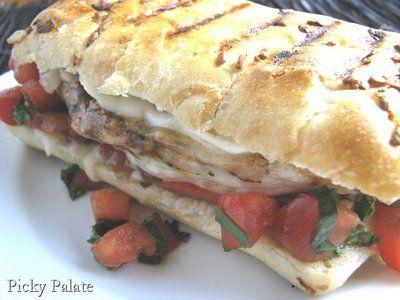 Balsamic chicken sandwich: Sandwiches, Chicken Bruschetta, Toasted ...