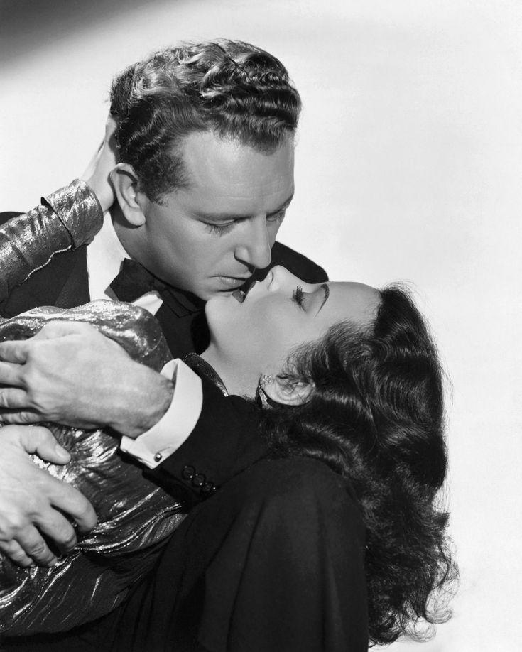 "Hedy Lamarr & Paul Henreid, ""The Conspirators"" (1944)"