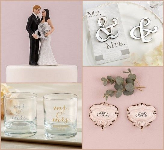 1000+ Images About Mr. And Mrs. Wedding Gifts / Favors On
