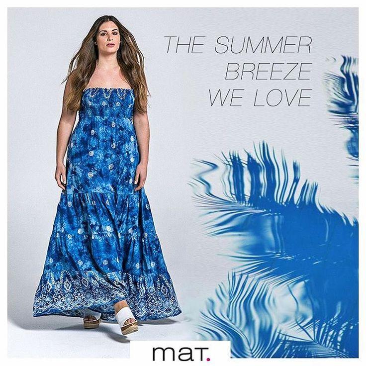 🐚 Το φόρεμα που μόλις προστέθηκε στη συλλογή μας και έφερε το καλοκαίρι...! Ανακάλυψε το ➲ code: 671.7339 #matfashion #summeringreece #realsize #psblogger #ootd