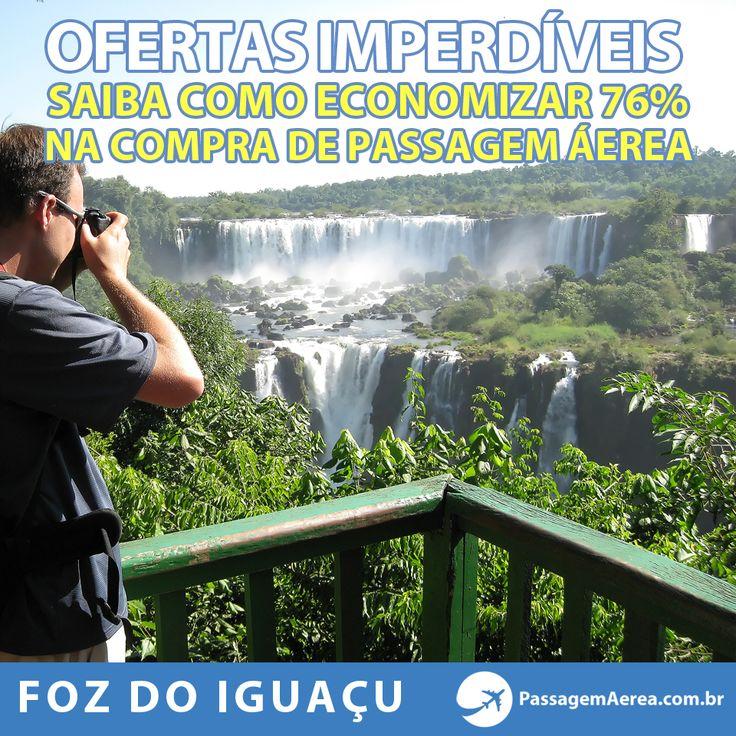 Saiba como ir para Foz do Iguaçu economizando 76% na compra de Passagens Aéreas na época de férias!  http://www.passagemaerea.com.br/foz-do-iguacu-julho-2014.html  #fozdoiguacu #passagemaerea #promocao #dicas