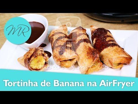 Tortinha de Banana no Pão de Forma na AirFryer / Fritadeira Sem Óleo - YouTube