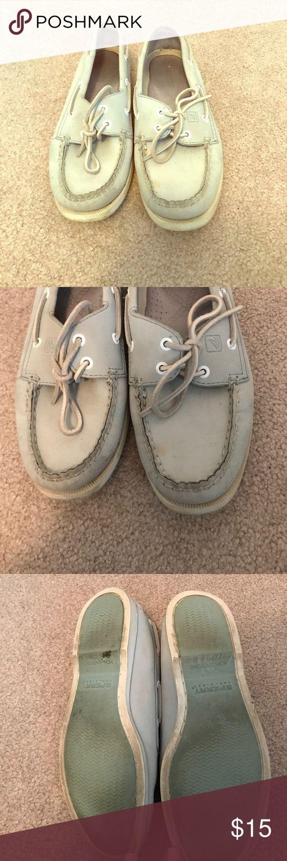 Sperry topsider Carolina blue size 7 Size 7 Sperry topsiders light Caroline blue Sperry Top-Sider Shoes Flats & Loafers