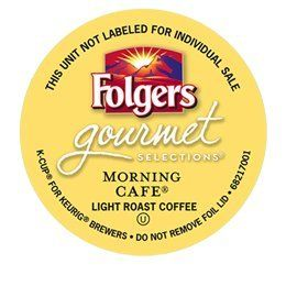 24 Count - Folgers Gourmet Selections Morning Cafe Coffee K Cup For Keurig K-Cup Brewers - http://thecoffeepod.biz/24-count-folgers-gourmet-selections-morning-cafe-coffee-k-cup-for-keurig-k-cup-brewers/