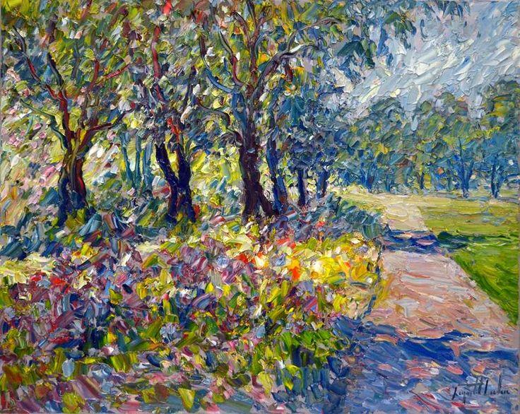 Raynald Leclerc - Jardin au Parc Jeanne-d'Arc Quebec