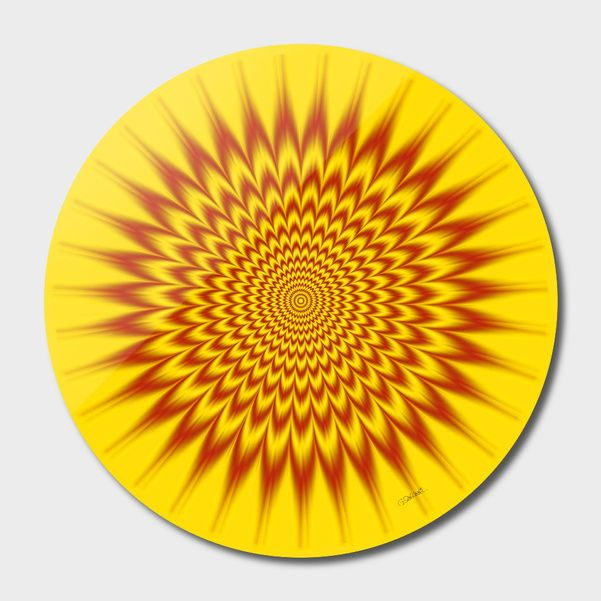 Discover «Hypnotic Vibes», Limited Edition Disk Print by Gianni Sarcone - From $65 - Curioos