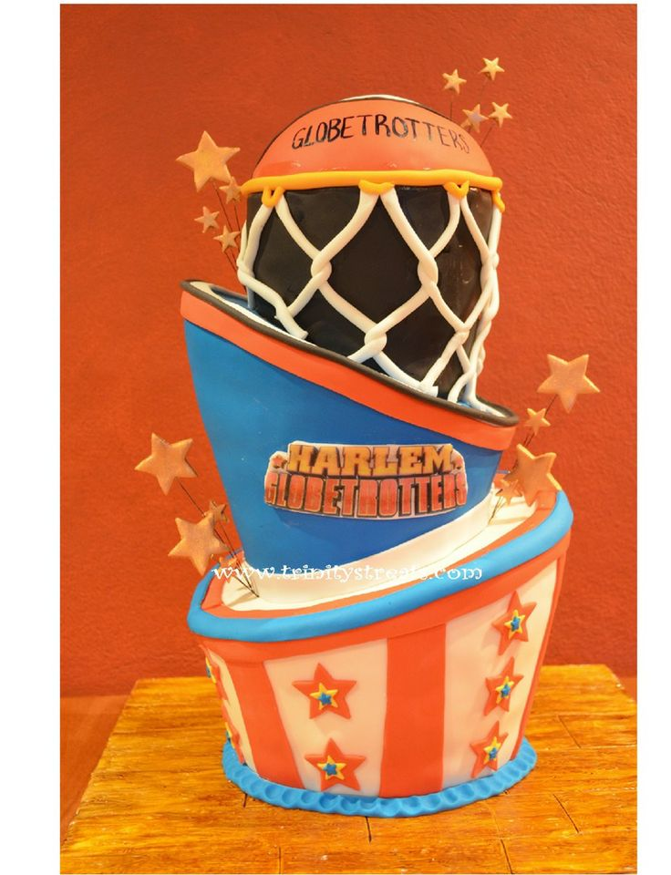 Harlem Globetrotters Cake From Www Trinitystreats Com