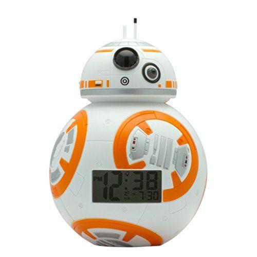 Amazing BulbBotz Star Wars Light Up Alarm Clocks (7.5 Inches Tall)