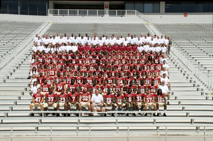FSU football team pictures over the years